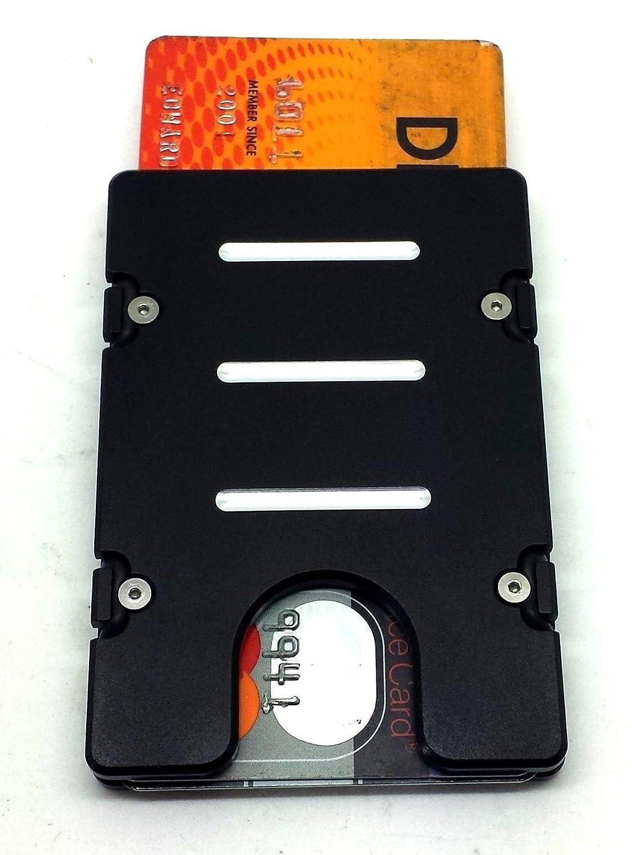 Amazon.com : Card holder Aluminum Wallet, NFC/RFID protection ...