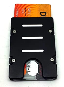 Cartes De Visite En Aluminium Portefeuille NFC RFID Protection Fabrique Aux Etats
