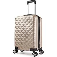 Trolley valigia 55cm bagaglio a mano ABS 40L 2.4kg super leggera 8 ruote rigida ¡