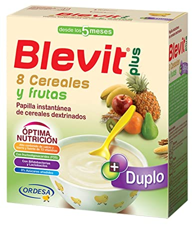 BLEVIT DUPLO 8 CEREALS FRUITS 600 GRAMS