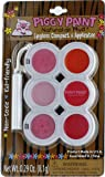 Piggy Paint Lip Gloss Compact with 6 Colors and Applicator