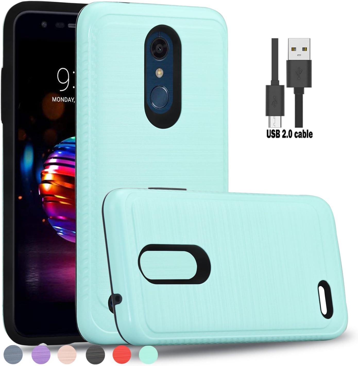 wtiaw - Funda para LG K10 2018 Haoyi LaSi/HS