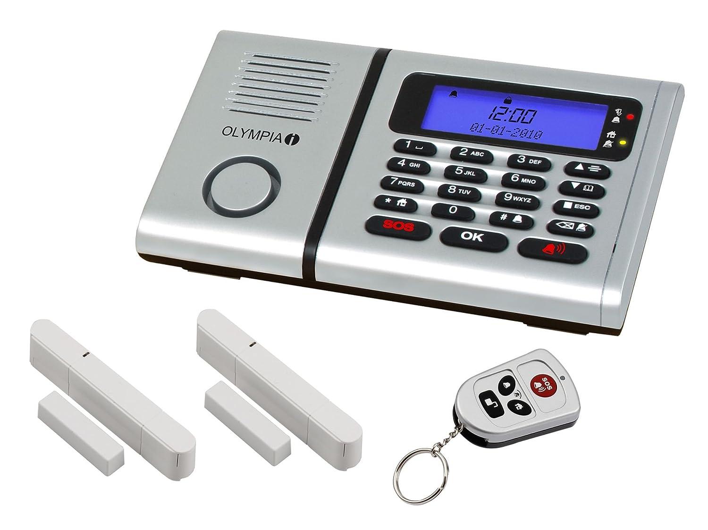 Olympia 6030 Sistema de alarma con 2 sensores de movimiento