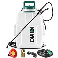 Deals on KIMO 3 Gallon Garden Sprayer w/ 2.0Ah Battery