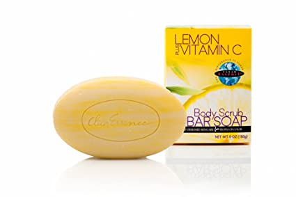 Transparente Essence limón Plus Vitamina C Exfoliante Corporal Jabón 150 G