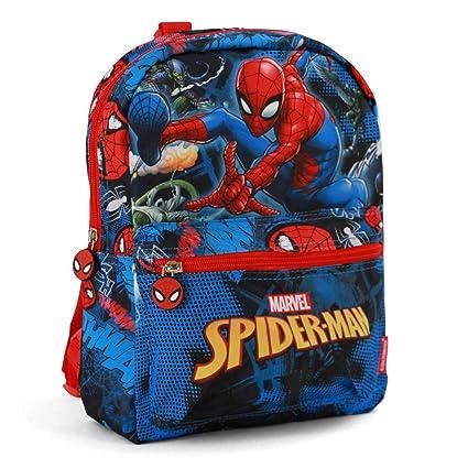 KARACTERMANIA Sac à dos araignée enfants, 39 cm, rouge