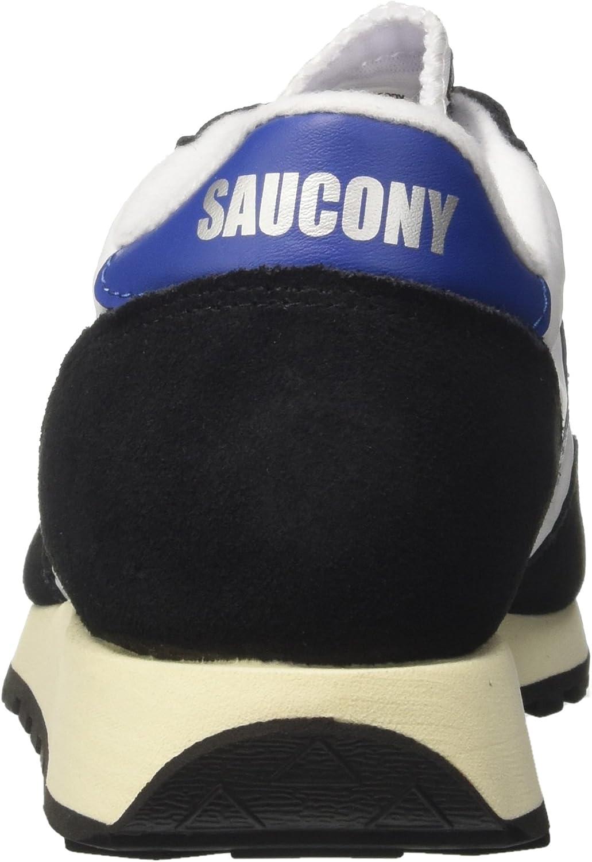 Saucony Jazz Original Vintage, Baskets Homme Blanc Cassé Wht Blk 15