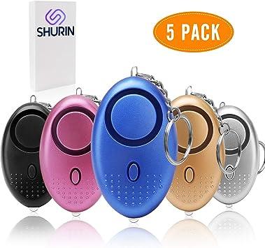 Amazon.com: Llavero con alarma de sonido personal para ...