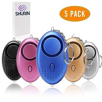 Amazon.com: Llavero de alarma de sonido personal para ...
