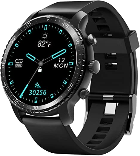 Tinwoo Smart Watch for Android/iOS Phones, Support Wireless Charging, Bluetooth Health Tracker with Heart Rate Monitor, Digital Smartwatch for…