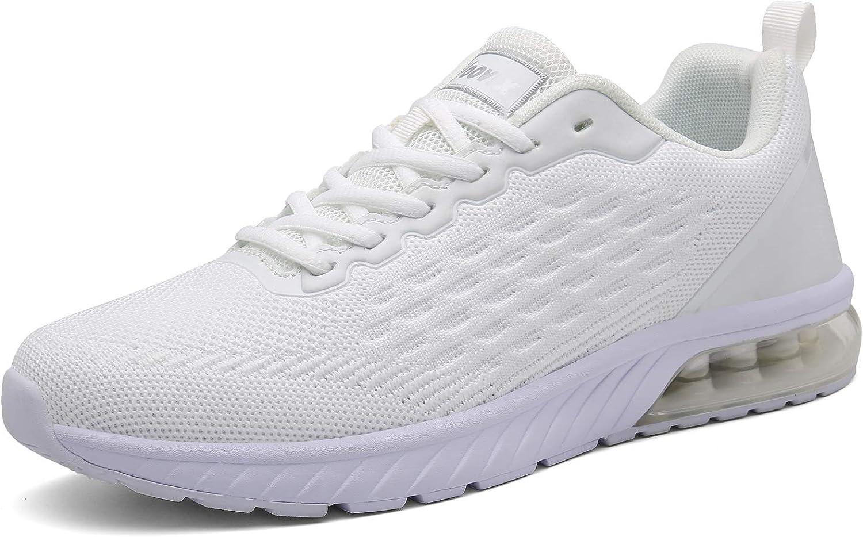Voovix Zapatillas Running para Hombre Aire Libre y Deporte Zapatos Casual Transpirables Gimnasio Correr Sneakers: Amazon.es: Zapatos y complementos