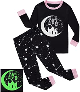 dolphinfish girls halloween pajamas kids pjs glow in the dark toddler halloween clothes