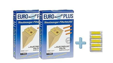 Euro Plus V 2503/2 Pack de 2 bolsas de aspiradora Electrolux ...
