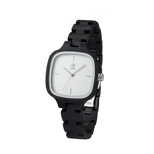 Reloj de Madera ZEITHOLZ - Rosswein - 100% de Madera de Acacia Negra - Producto