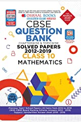 Oswaal CBSE Question Bank Class 10 Mathematics Book Chapterwise & Topicwise Includes Objective Types & MCQ's (For March 2020 Exam) Paperback