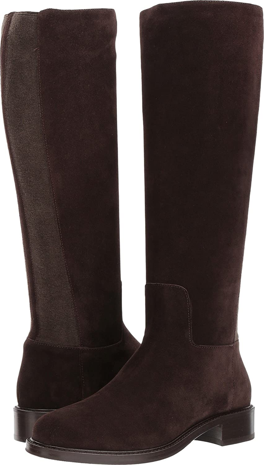 Aquatalia Women's Bryana Calf Knee High Boot B071CH8L9G 7 B(M) US|Espresso Suede