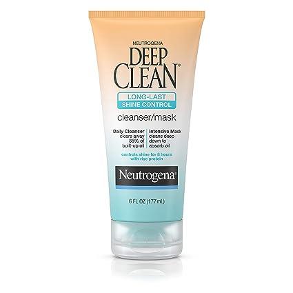 Neutrogena Deep Clean Limpiador largo último control de ...