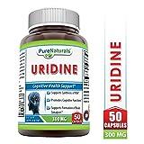 Pure Naturals Uridine 300 Mg 50 Capsules