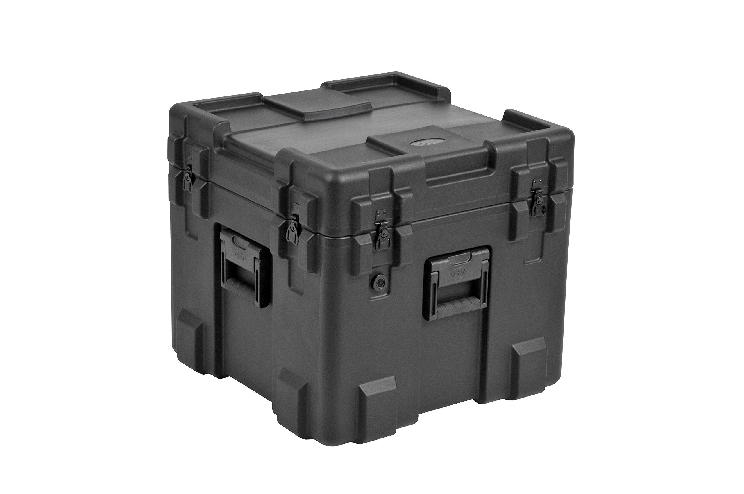 SKB Equipment Case, 22 X 22 X 20, Cubed Foam, Caster Kit Sold Separately