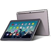 Tablet 10 Pollici - TOSCIDO Android 9.0 Certificato da Google GMS,Quad core,4G LTE Dual Sim Carta,64 GB Memoria,RAM 4 GB,WiFi/Bluetooth/ GPS/OTG,Suono Stereo con Doppio Altoparlante – Grigio