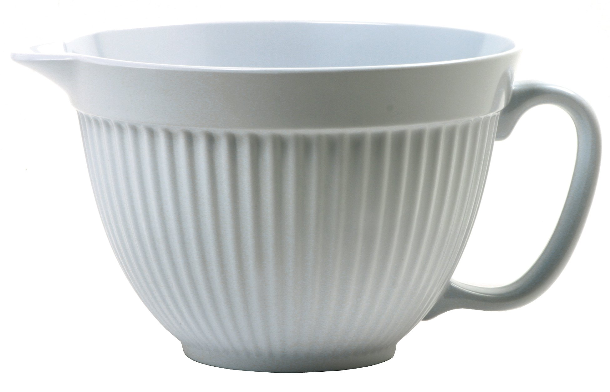 Norpro Grip-EZ 3-Quart Melamine Batter Bowl, White by Norpro (Image #1)