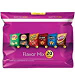 Frito-Lay Chips and Snacks Flavor Mix Variety Pack, 20 Count