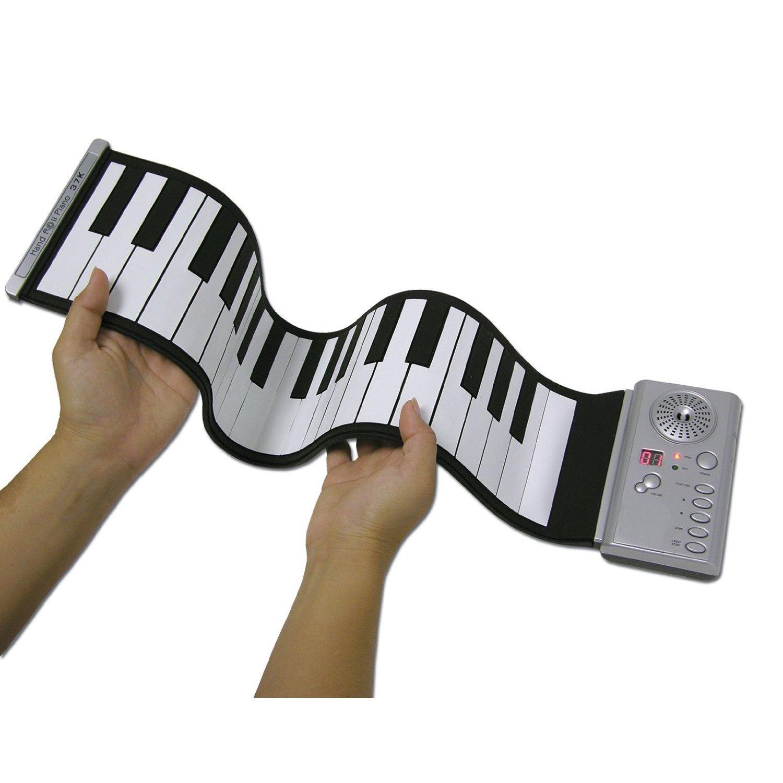 Jumbl8482; Roll Up Piano LED Digital Display 37 Keys Roll-Up Electronic Piano Keyboard