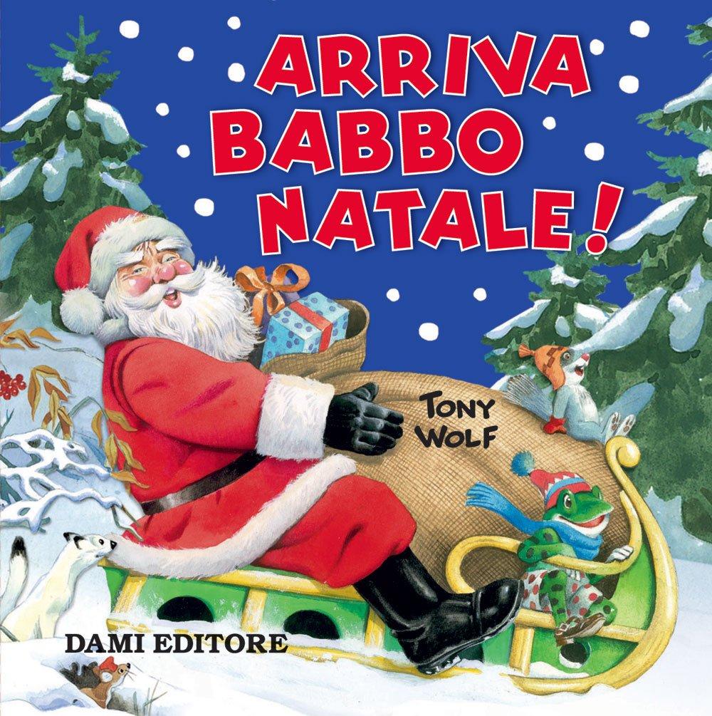 Dove Si Trova In Questo Momento Babbo Natale.Amazon It Arriva Babbo Natale D Achille Silvia Wolf Tony Libri