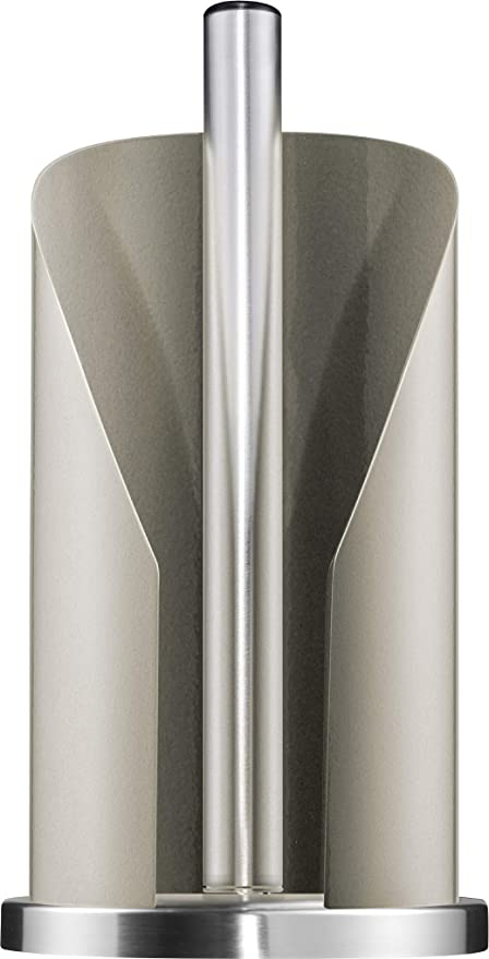 almond stainless steel Wesco paper roll holder Stainless Steel 15.5 x 15.5 x 30 cm