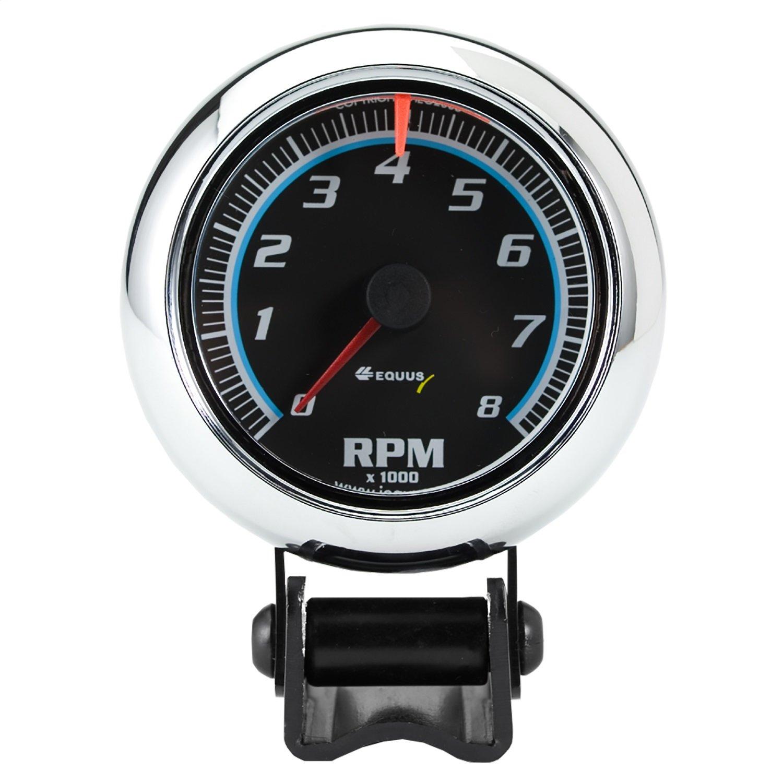 Equus 6076 2-1//2 Mini Tachometer Chrome INNOVA