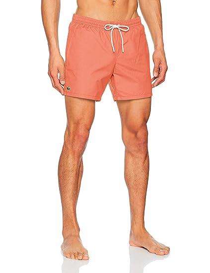 2a4dfb3e81 Lacoste - Men's Swimming Trunks - MH7092: Amazon.co.uk: Clothing