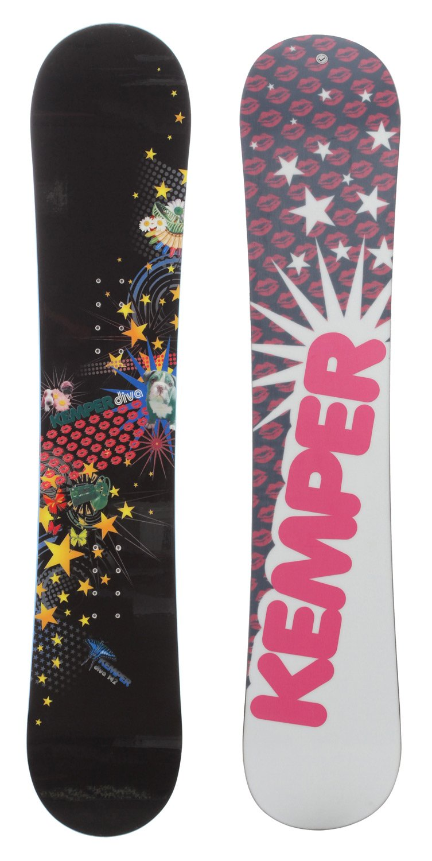 Kemper Diva Snowboard 152 Womens