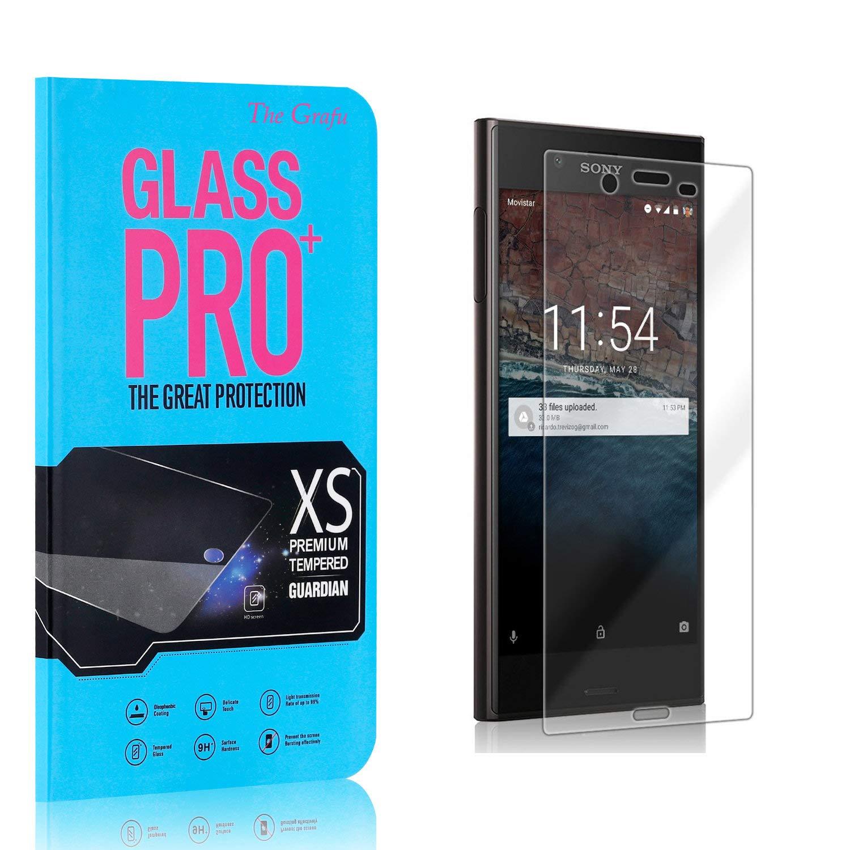 HD Screen Protector for Sony Xperia XZ The Grafu Anti Fingerprint Tempered Glass Screen Protector Screen Protector Compatible with Sony Xperia XZ 4 Pack