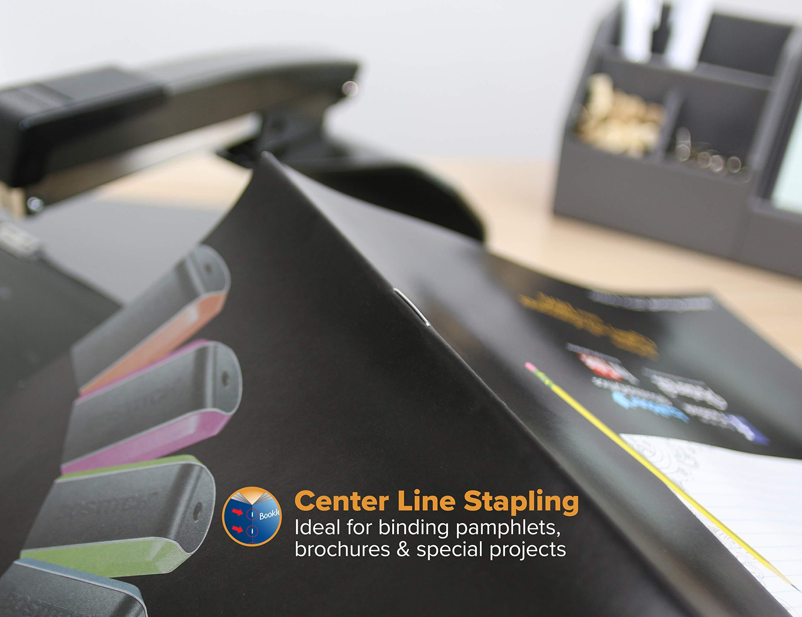 Bostitch No-Jam Booklet Stapler, Black (B440SB) by Bostitch Office (Image #4)