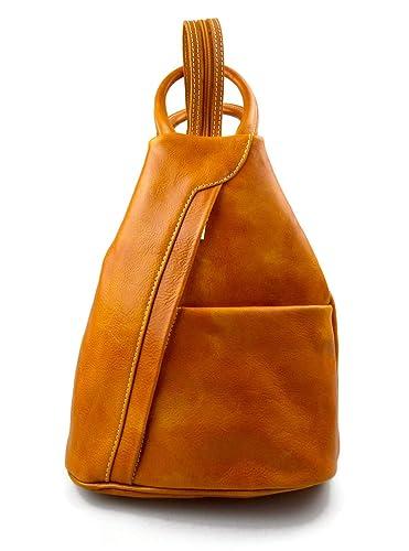 Bolso de cuero genuino mochila de hombre de piel mochila de mujer bolso de viaje bandolera