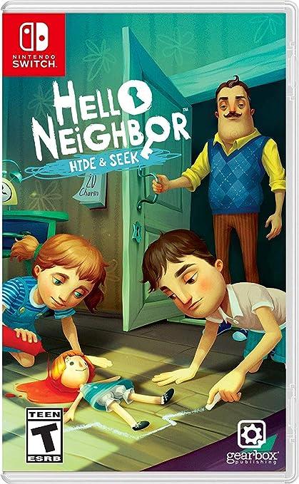 Jogo Hello Neighbor - Hide e Seek - Switch - Dynamic Pixels