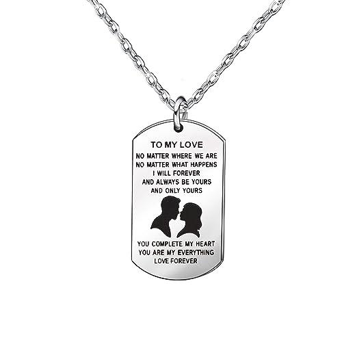 Regalo de aniversario para parejas - Cadena de plata ...