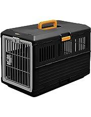 Iris 531149 Transportbox Haustieren, 20 kg, schwarz