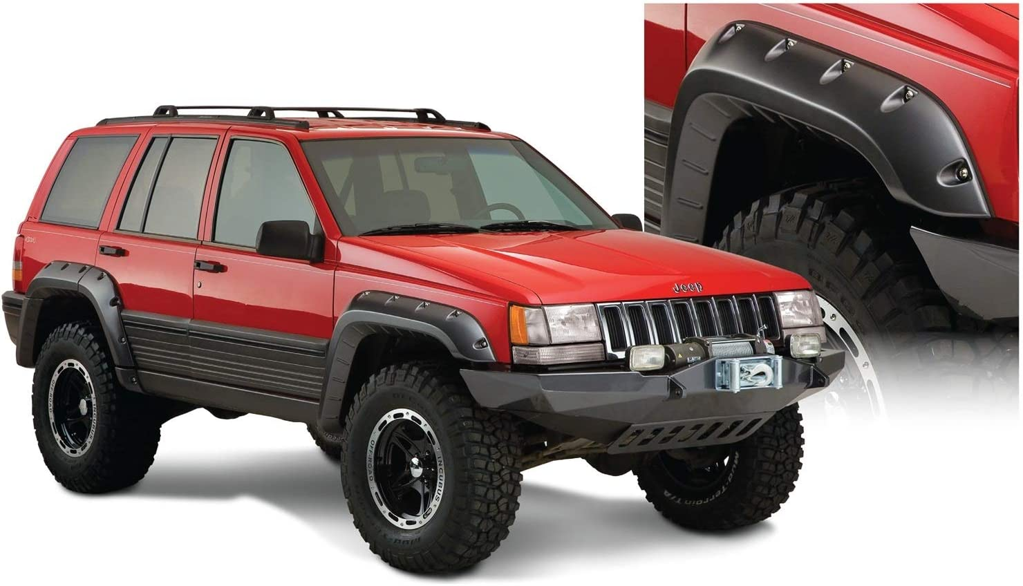 Painted To Match Front Right Fender for 1993-1998 Jeep Grand Cherokee 93-98