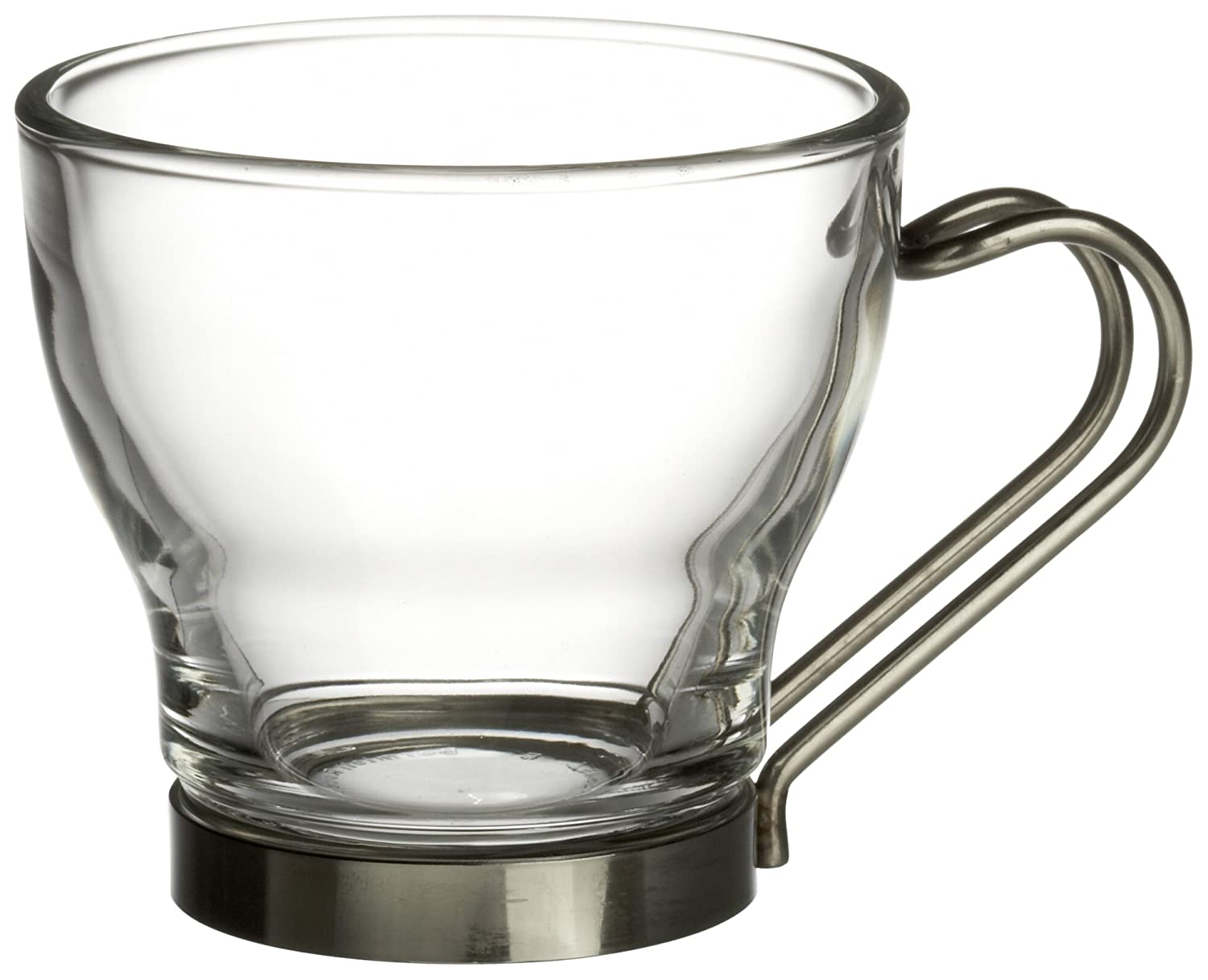Merveilleux Amazon.com | Bormioli Rocco Verdi Espresso Cup With Stainless Steel Handle,  Set Of 4, Gift Boxed: Coffee Cups: Mixed Drinkware Sets