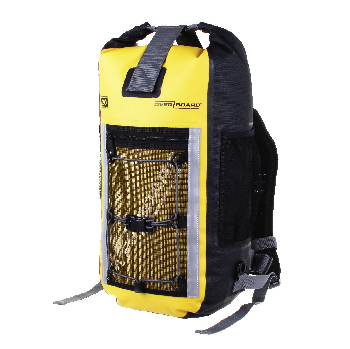 OverBoard Waterproof Pro-Sports Backpack, Yellow, 20-Liter