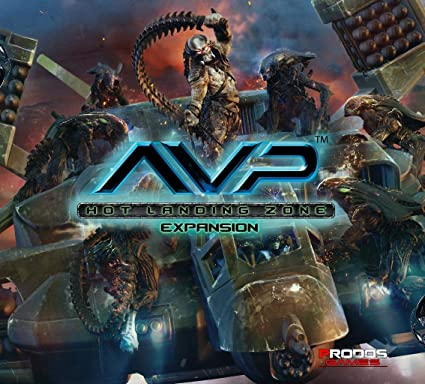 AvP Tabletop Game The Hunt Begins Expansion Hot Landing Zone PRODOS Games Gaming