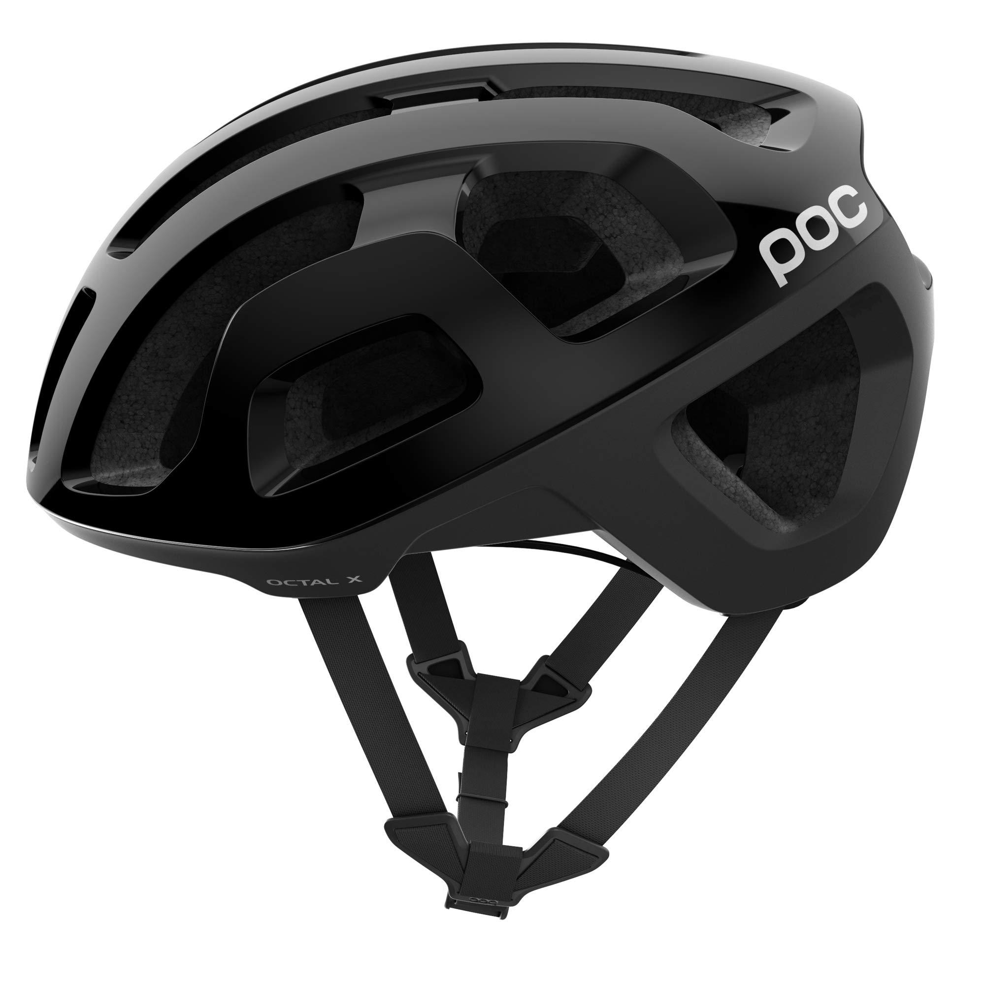 POC Octal, Helmet for Road Biking, Hydrogen, Uranium Black, S