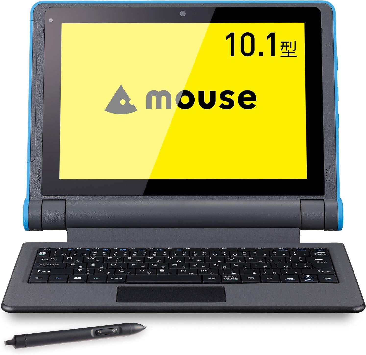 マウスコンピューター 10.1型タブレットPC 2in1