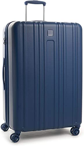 Hedgren Gate L EX 29 Expandable Spinner, Hardside Luggage, TSA Lock, Navy Peony