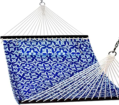 Lazy Daze Hammocks Quilted Fabric Double Hammock
