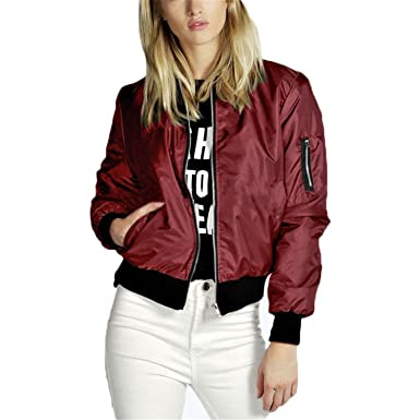 219e0900cbf Amazon.com  spyman Nice Fashion Coats NEW Autumn Winter Women Thin Jacket  Long Sleeve Coat Casual Stand Collar Outerwear Plus Size S-5XL  Clothing