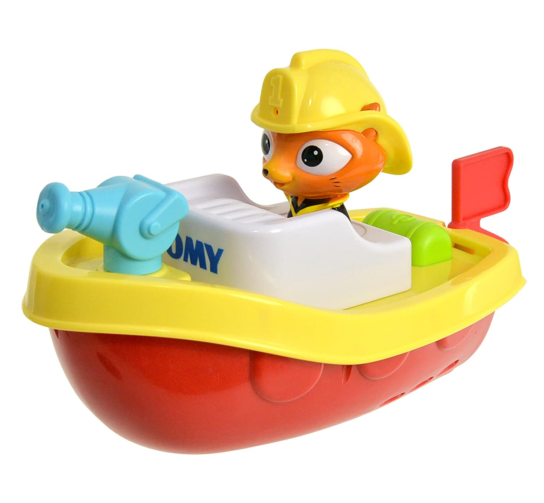 Tomy - Barca di salvataggio giocattolo con telecomando E72425