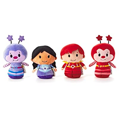 Hallmark Rainbow Brite itty bittys Collection of Indigo, Red Butler, Hammy Sprite and ...: Toys & Games