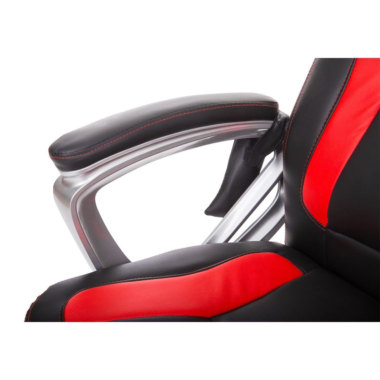 Amazon Hom Race Car Style PU Leather Heated Massaging